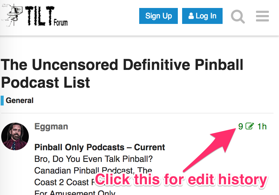 The Uncensored Definitive Pinball Podcast List - General - Tilt Forums